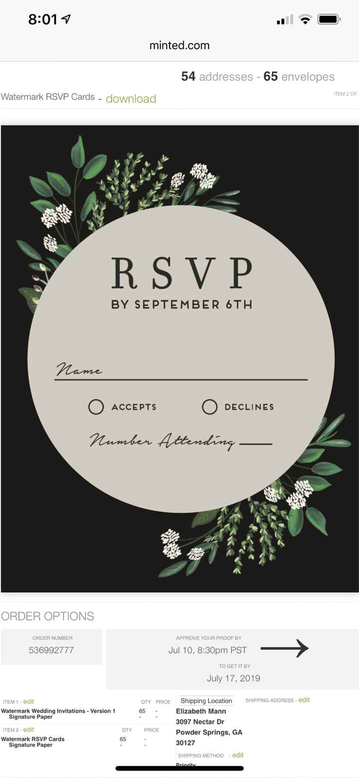 Where are you getting your invitations? - 2
