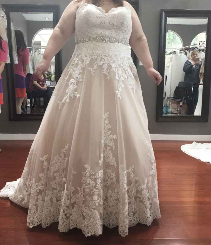 First dress shopping experience