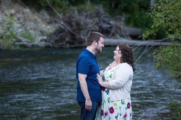 We got our Engagement Pics back!