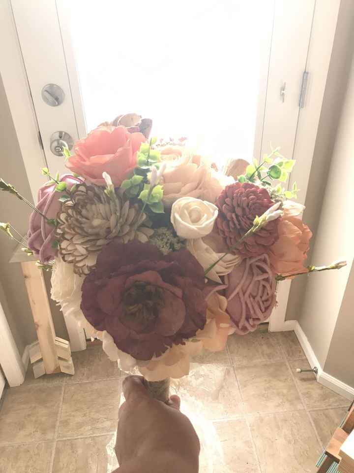 Finished my bouquet today
