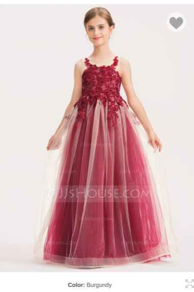 Matching bridesmaid and flower girl dresses? - 3