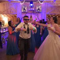 This pretty much sums up the dancing portion of the night.. we had a blast!