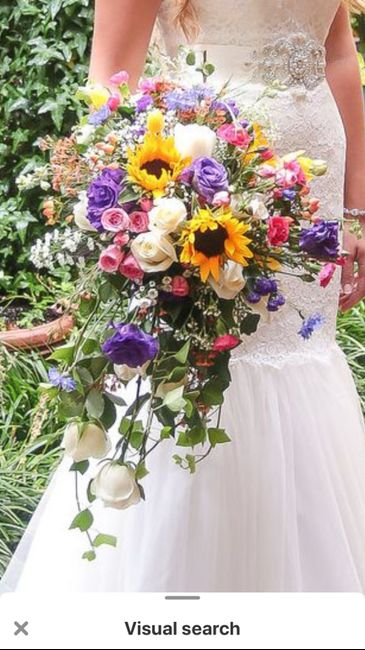 Bridal Bouquet: Color or White? 12