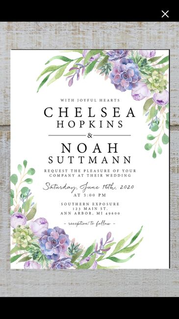 Invitations ordered, show me yours! 5