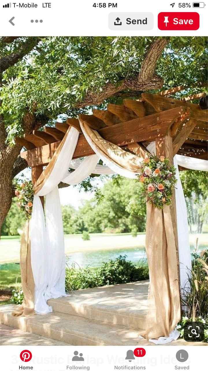 Arbor decorations? - 1
