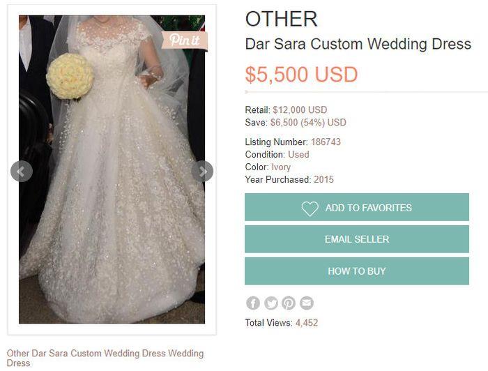 Dar Sara Wedding Dress