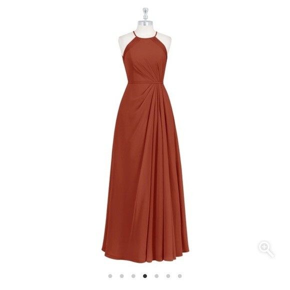 Where to Get Dusty Orange Bridesmaids Dresses 2