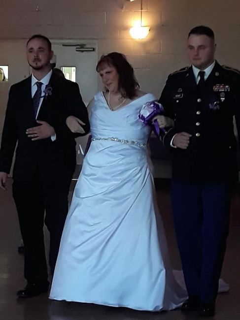 Walking the Bride Down the Aisle 2