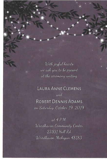 Should our last names be on our invitations? 3