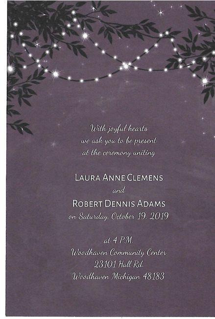 Wedding Invitations on a Budget 1