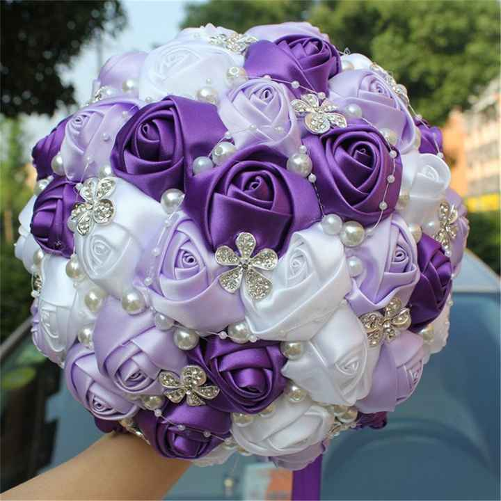 my bouquet (top view)