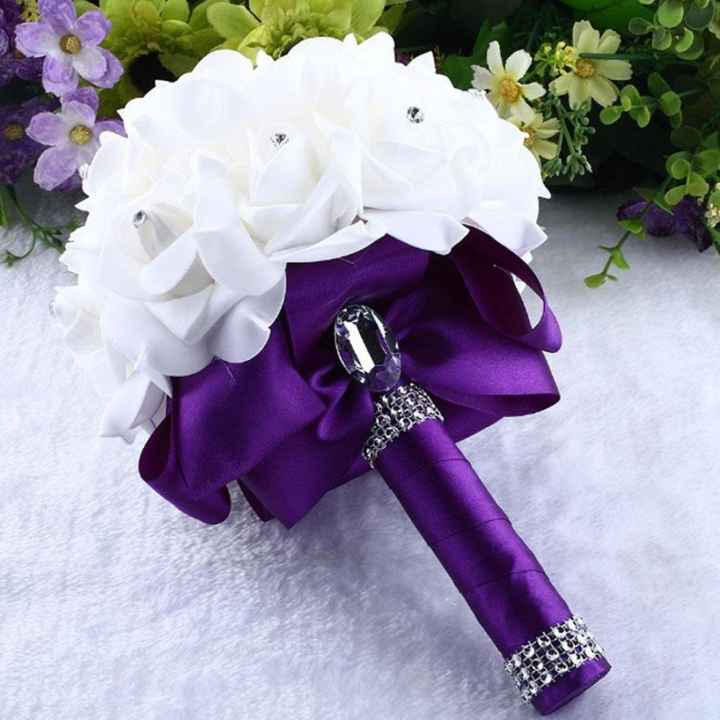 bridesmaid & MOH bouquet