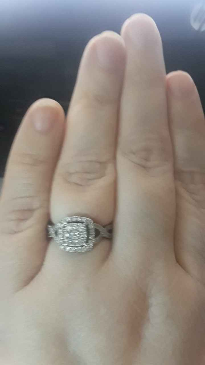 my engagement ring