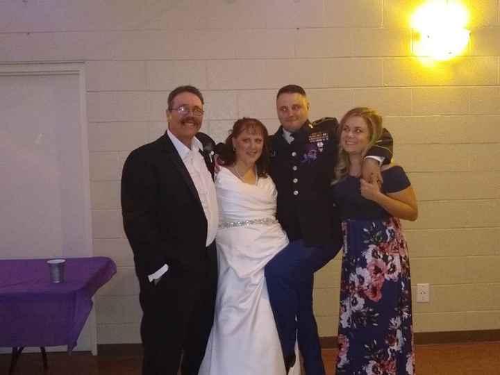 Rob, me, Robert & his fiancee Katherine