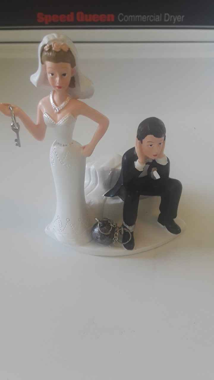 Vintage Cake Topper Ideas - 1