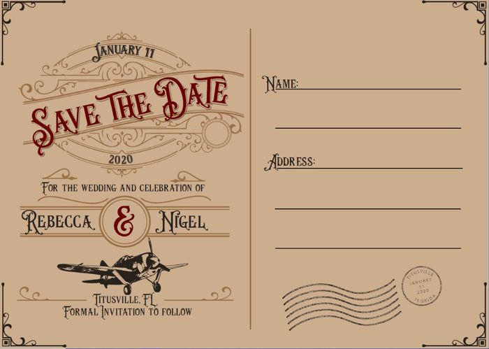 Show me your Save the Dates! 3