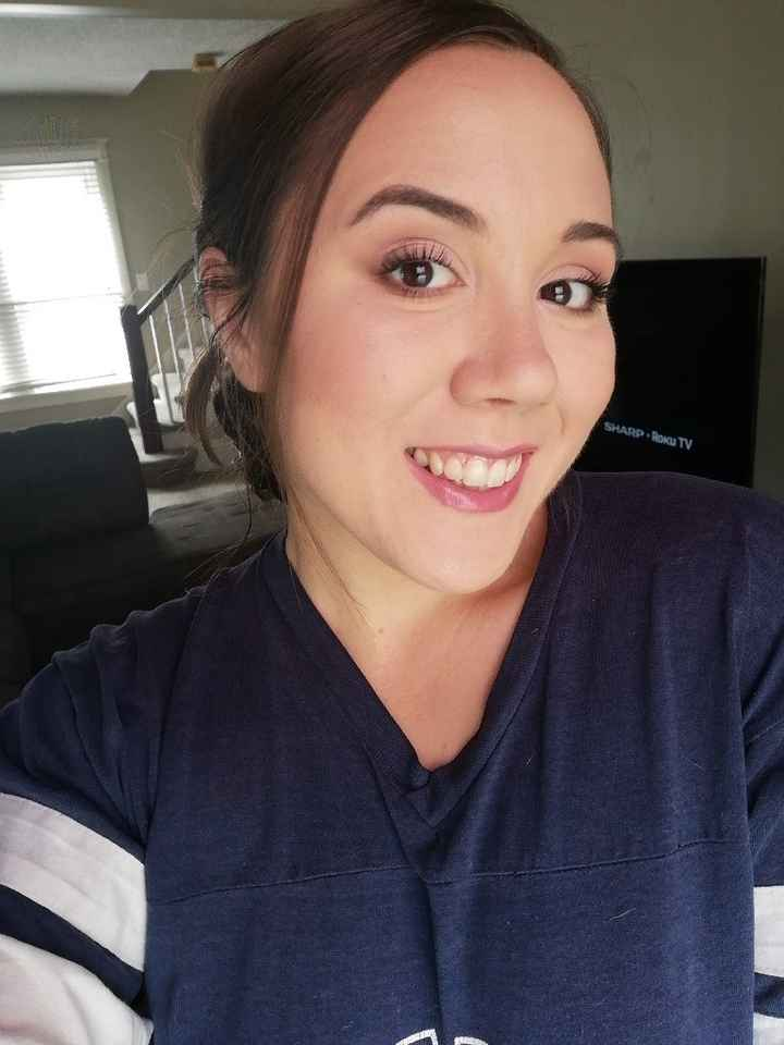 Diy makeup trial! - 2