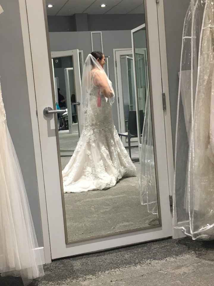 Having second thoughts on my veil... - 2