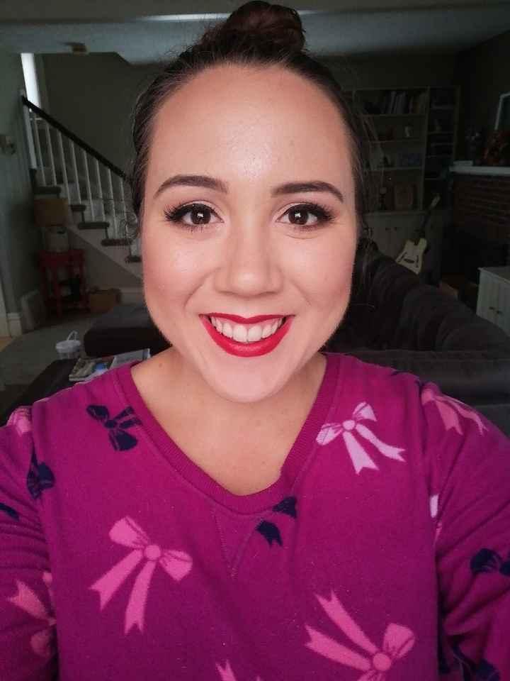 Diy makeup trial #2 - 1