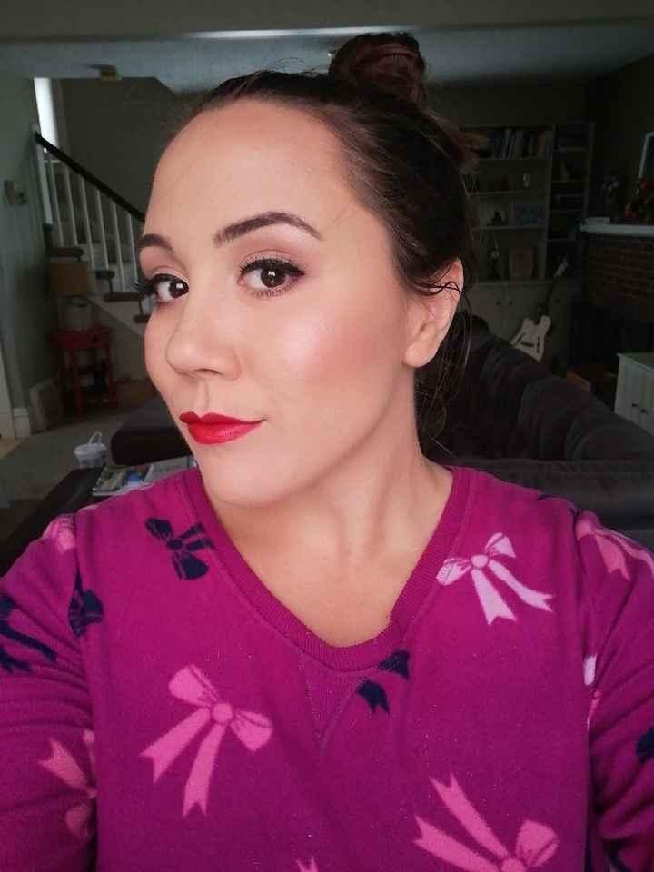 Diy makeup trial #2 - 2