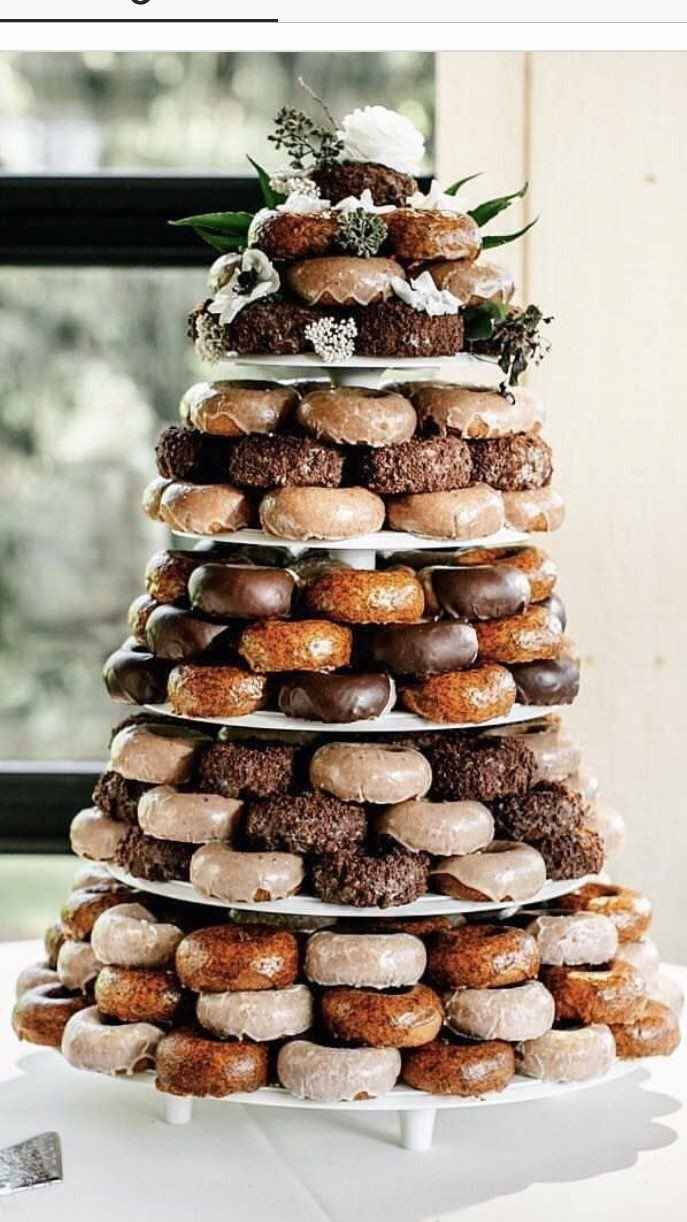 Donuts instead of cake