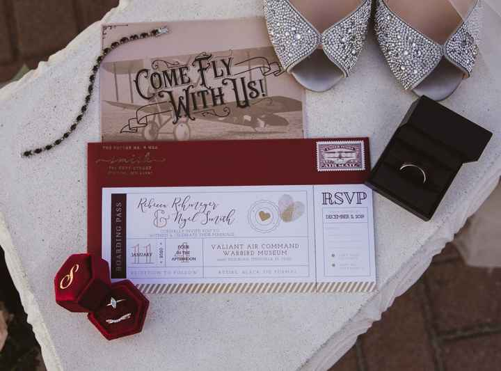Let's See Your Invitations! - 1