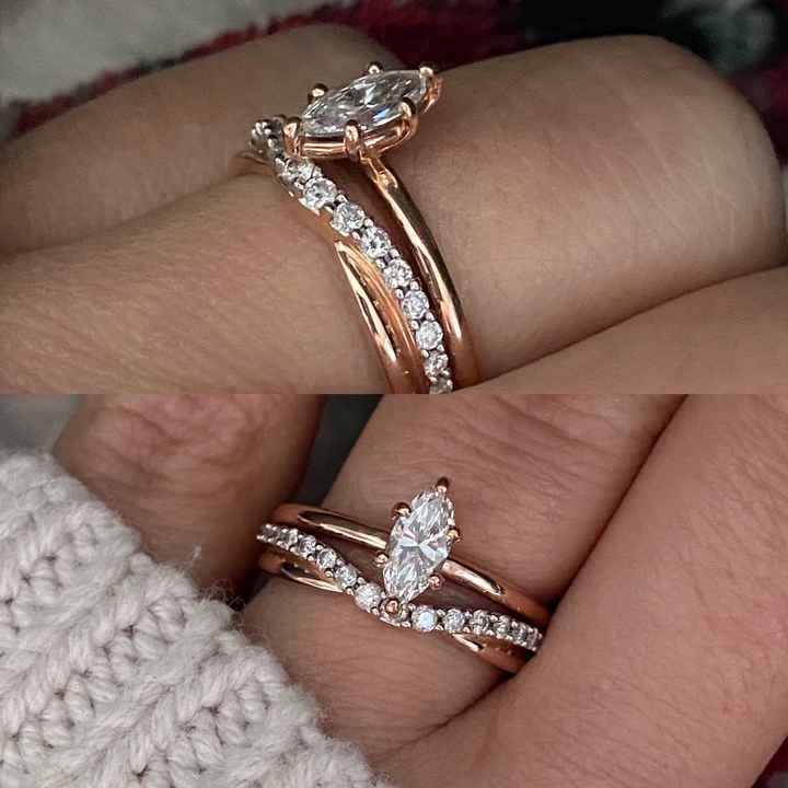 i want to see everyones rings. - 1
