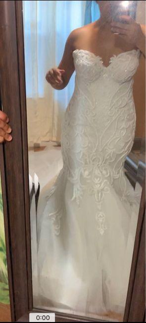 Wedding dress finally came 3