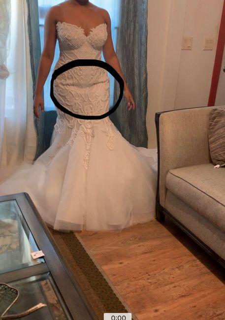 Wedding dress finally came 5