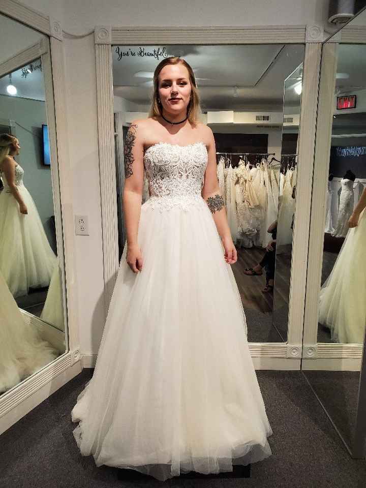 My dress came in! - 1