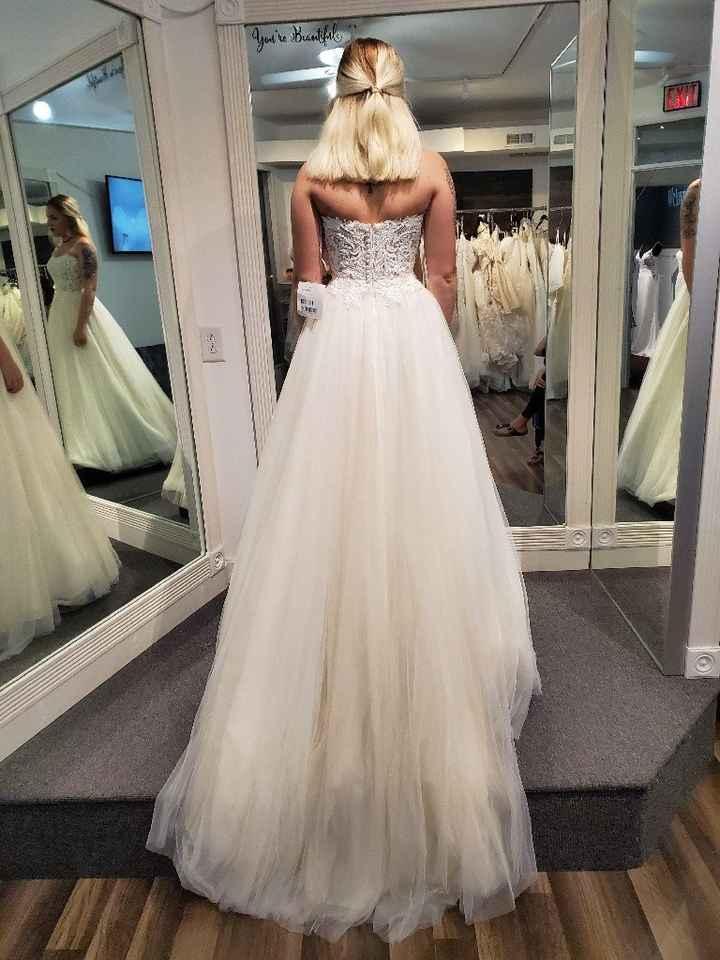 Short/petite bride, please show me your dress - 2