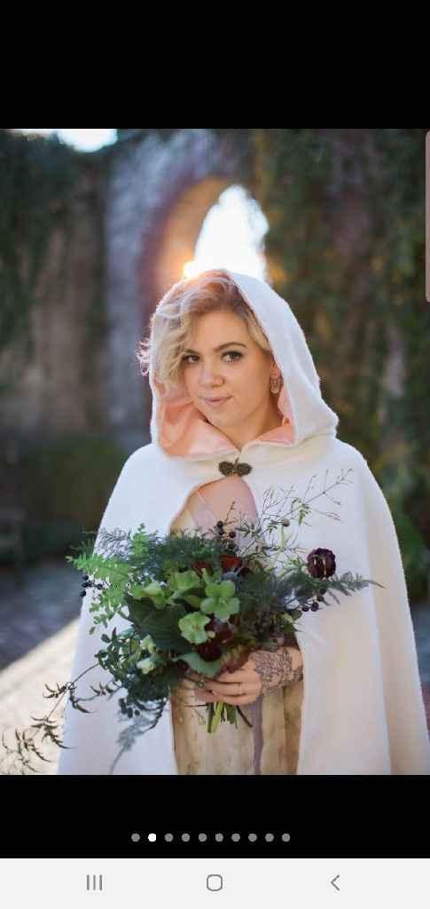 Bridal cape? - 1