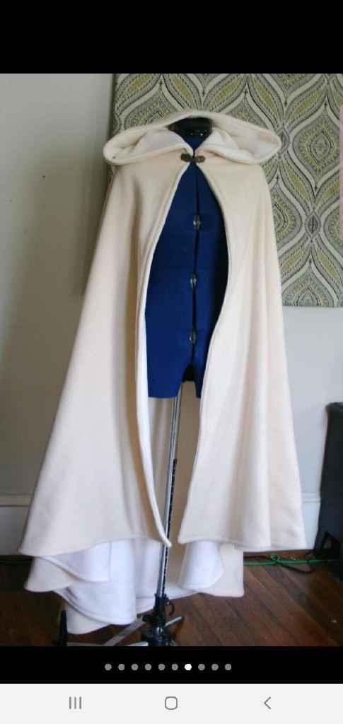 Bridal cape? - 2