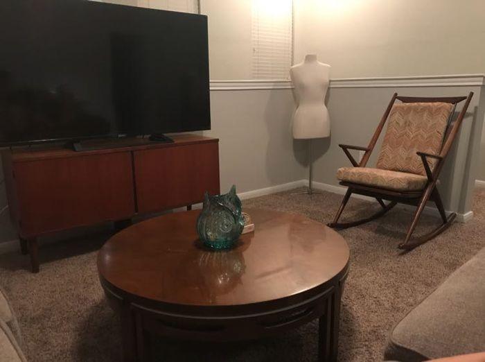 Heartwarming Day Vintage Mid Century Wedding Furniture 1