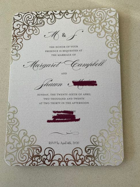 Invitations ordered, show me yours! 11