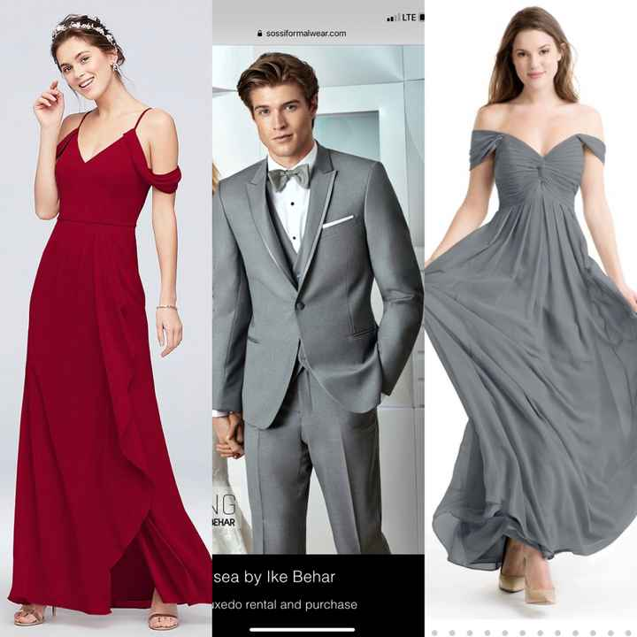 Groomsmen Suits - What Color? - 1