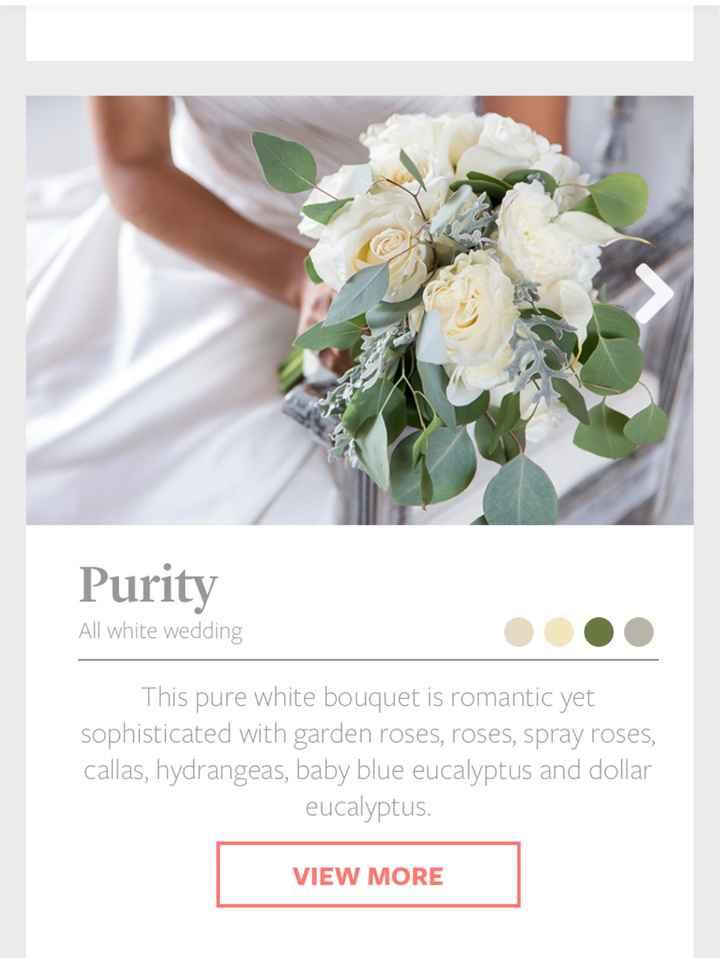 Bouquet advice - 1