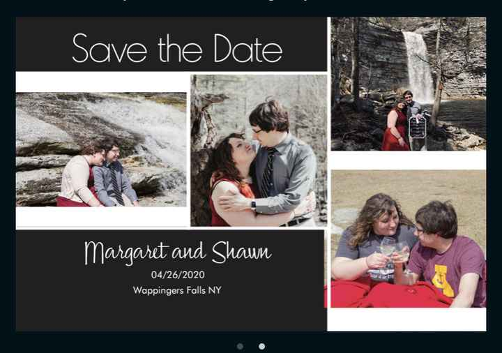 Invitations ordered, show me yours! - 1