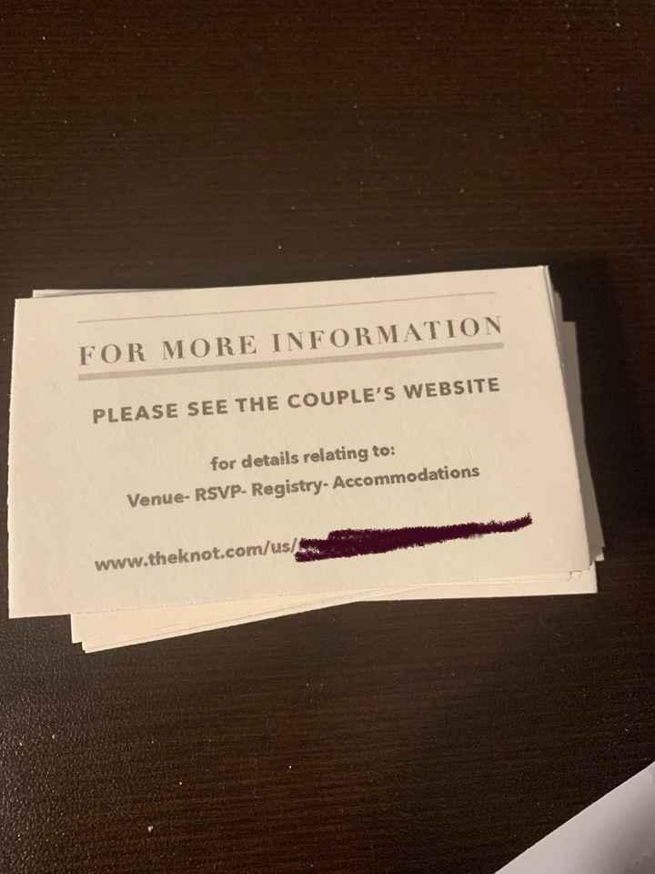 Invitation question - 1