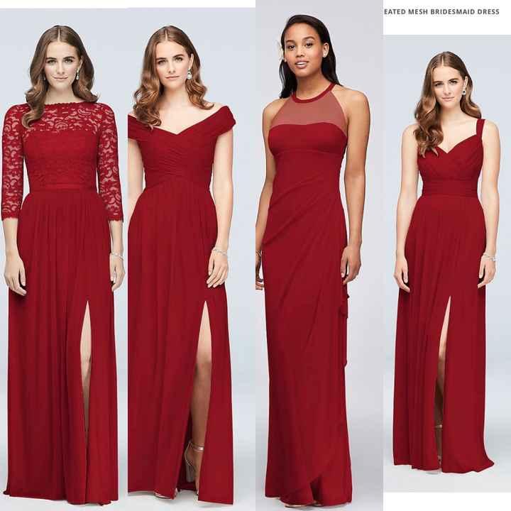 Bridesmaids dresses! - 1