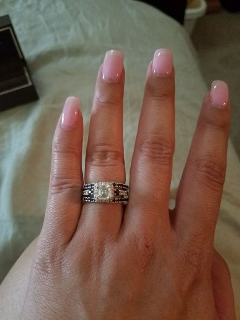 Who else has gemstones in their ring(s)?  Let's see them! 12