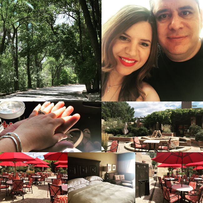 Selecting our venue! 💖💏💖🥂