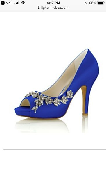 Curious what everyone's wedding shoes look like? 13