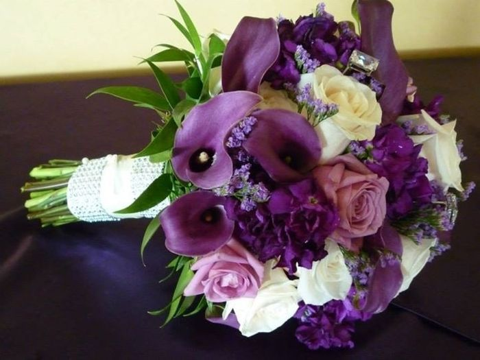 Your bouquet flowers - real or fake? and how much did yours cost