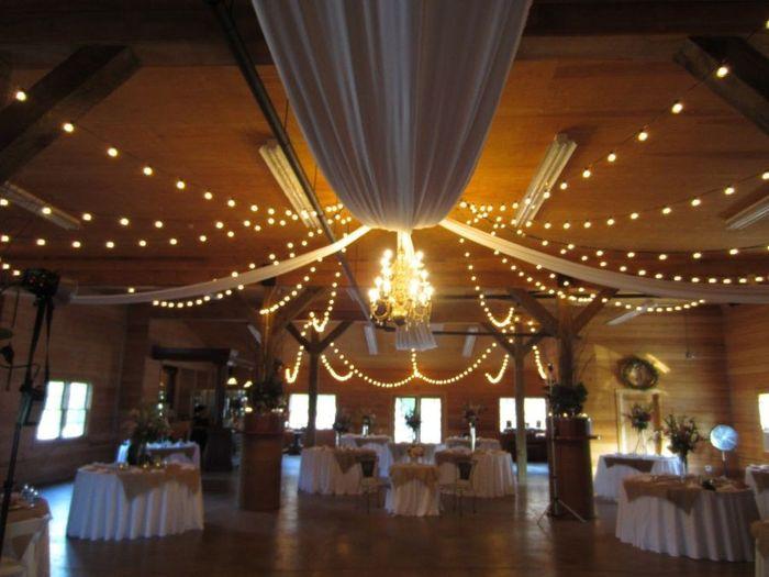 Turning a ballroom rustic 12
