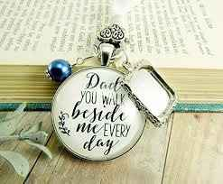 a keepsake to tie onto your bouquet