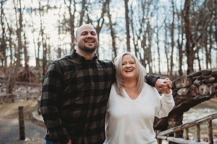 Anyone have engagement photos that are neither cutesy nor glam? 11