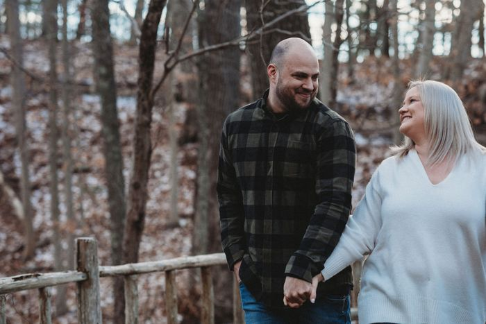 Anyone have engagement photos that are neither cutesy nor glam? 13