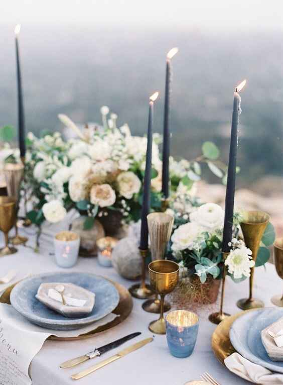 Moody Spring Wedding-did a later ceremony time accentuate the look of the wedding? - 2