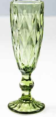 Green Vintage-look Glassware? - 2